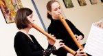 Das Ensemble A Due spielte Stücke von de Boismortier, de Montéclair, Lupacchino, Mancinus, Genzmer, Pezolt und Telemann.