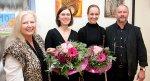 Von links: Elisabeth Klinger, Prof. Monika Bovenkerk, Zoe-Marie Ernst und Peter Klinger.